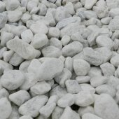 Polar White Pebbles 20 - 40mm