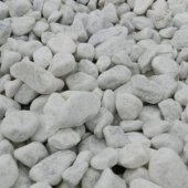 Polar White Cobbles 40 - 90mm