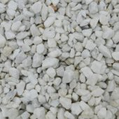 Polar White Chippings 8 - 11mm