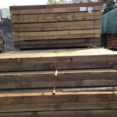 New Pine Sleepers (3000mm x 200mm x 100mm)