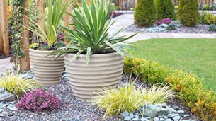 Enhance your garden with decorative stones & pebbles