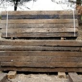 Grade A Reclaimed  Sleepers (2600mm x 240mm x 150mm)
